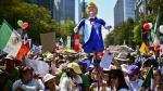 Mexicanos protestaron contra Trump y su muro fronterizo - Noticias de bill clinton