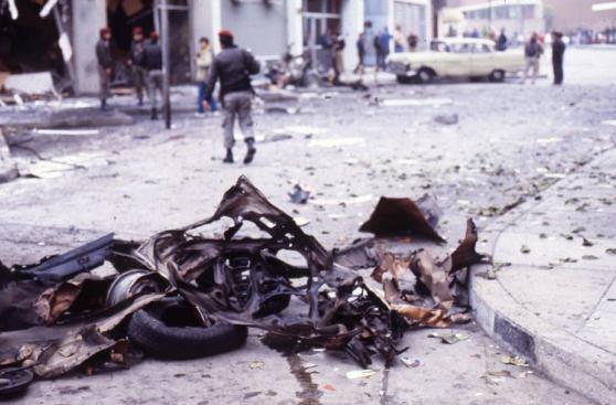 El devastador atentado de Sendero en la calle Tarata [FOTOS]