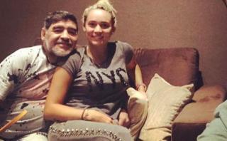 Diego Maradona se instala en Madrid a la espera del Napoli