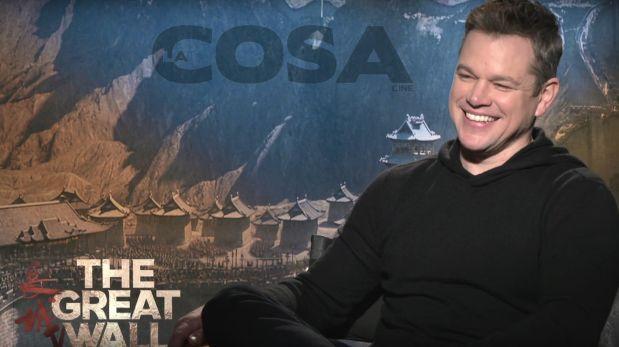 Matt Damon se animó a la cumbia y la rompió