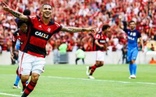 """Paolo Guerrero: """"Creo que este es el mejor año para Flamengo"""""""