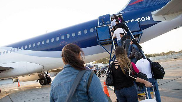 Turismo: cerca de 3 millones de peruanos salieron del país