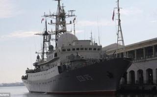 Estados Unidos detecta barco espía ruso cerca de su costa