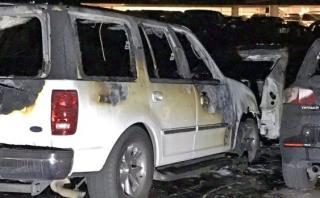 EE.UU.: Se incendió el estacionamiento de Disneyland [VIDEOS]