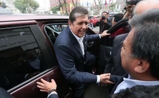 Alan García dice que sí declarará ante fiscal por gasoducto