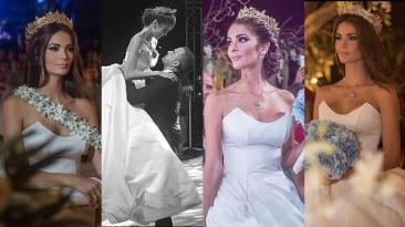 Laura Spoya: así fue su boda religiosa de ensueño [FOTOS]