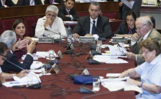 Comisión Lava Jato vuelve a criticar trabajo del fiscal Castro