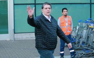 """Alan García regresó al Perú: """"No tengo ningún temor"""""""