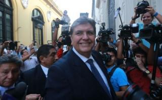 """Alan García: """"Yo no doy ejemplo ni lecciones a nadie"""""""