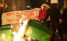 Violencia se apodera de París por caso de joven abusado
