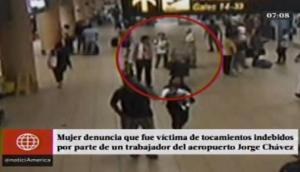 Pasajera denunció a trabajador de Jorge Chávez por tocamientos