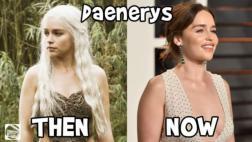 """YouTube: el antes y después de los actores de """"Game of Thrones"""""""