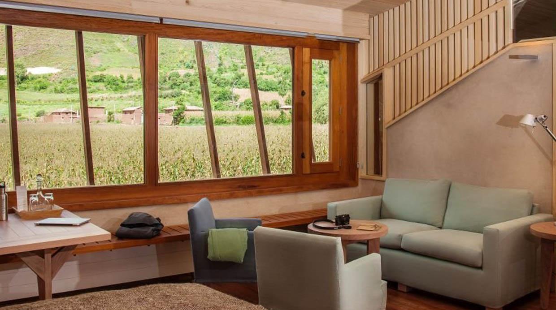 El hotel Explora Valle Sagrado se encuentra ubicado a orillas del pueblo de Urquillos, en Cusco. Cuenta con 44 habitaciones y 6 suites.(Foto: explora.com)