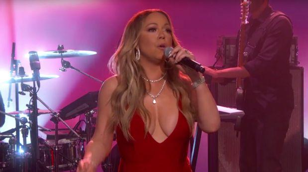 Mariah Carey volvió a cantar en vivo tras bochorno en Año Nuevo