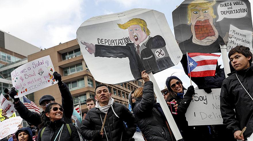 Huelga de inmigrantes en EE.UU. para demostrar su poder a Trump