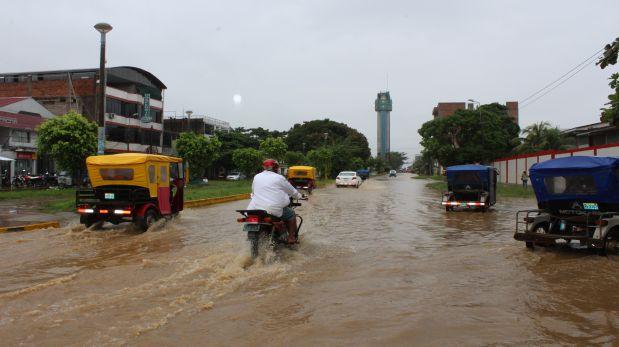 Las autoridades regionales informaron que lluvias continuarían todo el mes de febrero, por lo que han recomendado a las personas asentadas en las riberas de los ríos que tomen precauciones. (Foto: Manuel Calloquispe).