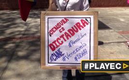Venezuela: periodistas y chavistas protestan por bloqueo a CNN