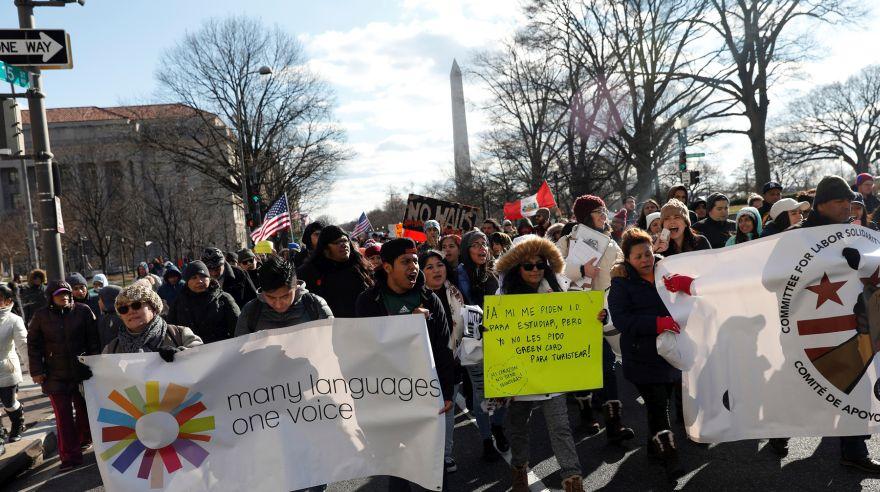 [Foto] Peruanos participan de huelga de inmigrantes en EE.UU. [FOTOS]