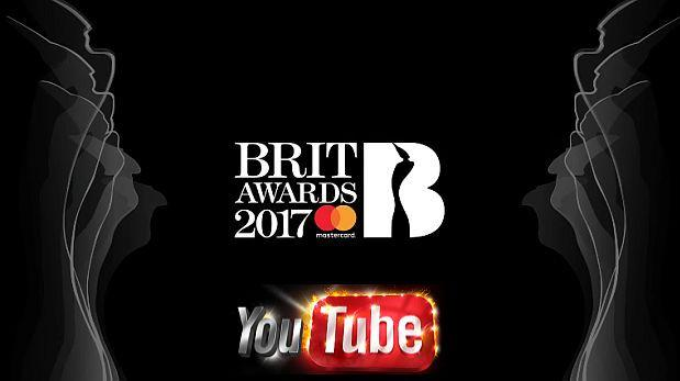 YouTube emitirá en directo los BRIT Awards 2017