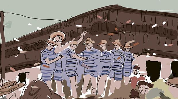 Hace cien años: Carnavales