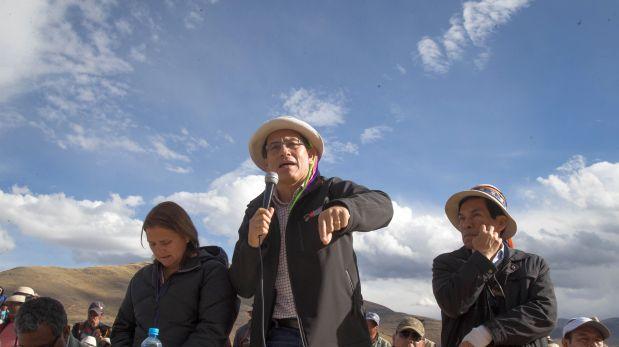 En diciembre,el ministro Vizcarra inició un diálogo con las comunidades en Cotabambas (Foto: Rolly Reyna)