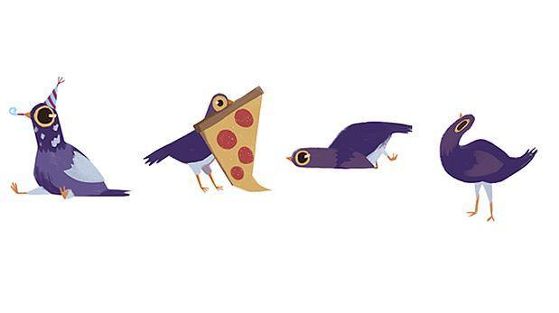 Facebook: ¿por qué razón las palomas mueven la cabeza al andar?