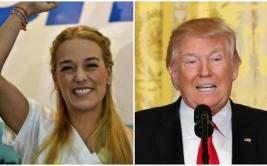"""Lilian Tintori: """"Donald Trump está con el pueblo de Venezuela"""""""