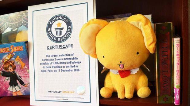 Peruana logra Récord Guinness por lista de Sakura Card Captor