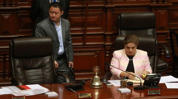 Ética decidirá si investiga a Kenji Fujimori y Luz Salgado