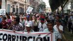 Centro de Lima: así se desarrolló Marcha Contra la Corrupción - Noticias de nicolas mendoza