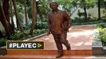Cuba rinde tributo a Gabo con escultura en La Habana Vieja - Noticias de jose leal