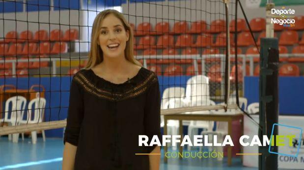 Mira el debut de Raffaella Camet como conductora [VIDEO]