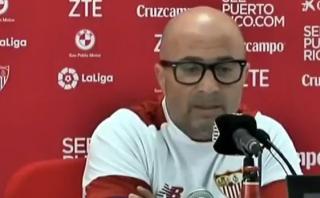 """Sampaoli sobre su posible fichaje al Barcelona: """"Nunca se sabe"""""""