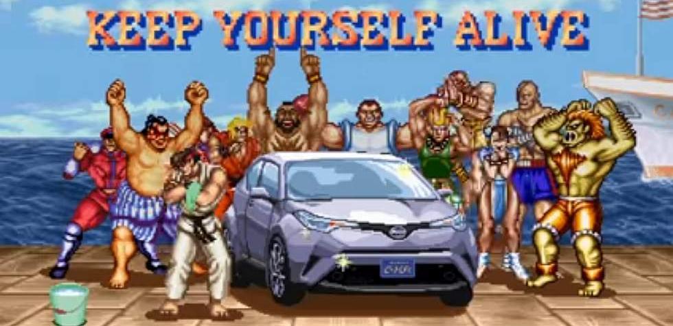 Toyota CH-R: el nuevo peleador de Street Fighter