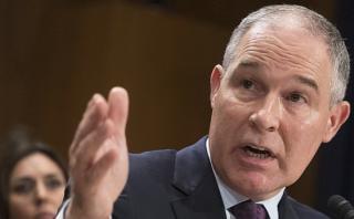 EE.UU.: Confirman a Pruitt como encargado de medioambiente