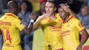 Monarcas perdió 2-1 ante Toluca con Andy Polo y Raúl Ruidíaz