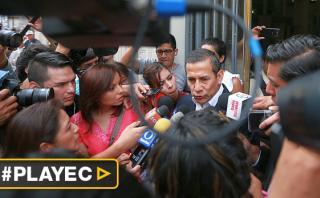 """Ollanta Humala: """"No pertenezco al club de presidentes prófugos"""""""