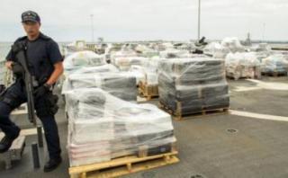 EE.UU. intercepta 13 toneladas de cocaína en el Pacífico