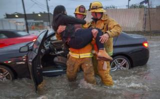 EE.UU.: Tormenta deja un muerto y cientos de personas evacuadas