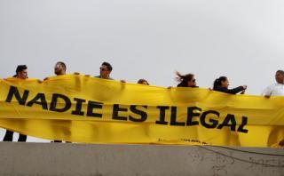 Senadores mexicanos llevan su rechazo a la frontera con EE.UU.