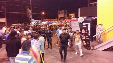 Independencia: pánico y muerte en centro comercial por balacera