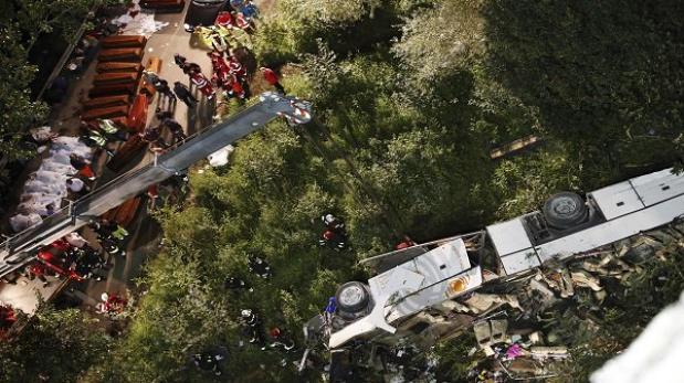 Accidente Tur Bus: acusan exceso de velocidad y hay fono informaciones