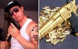 Perfil de Facebook del homicida del Royal Plaza lleno de armas