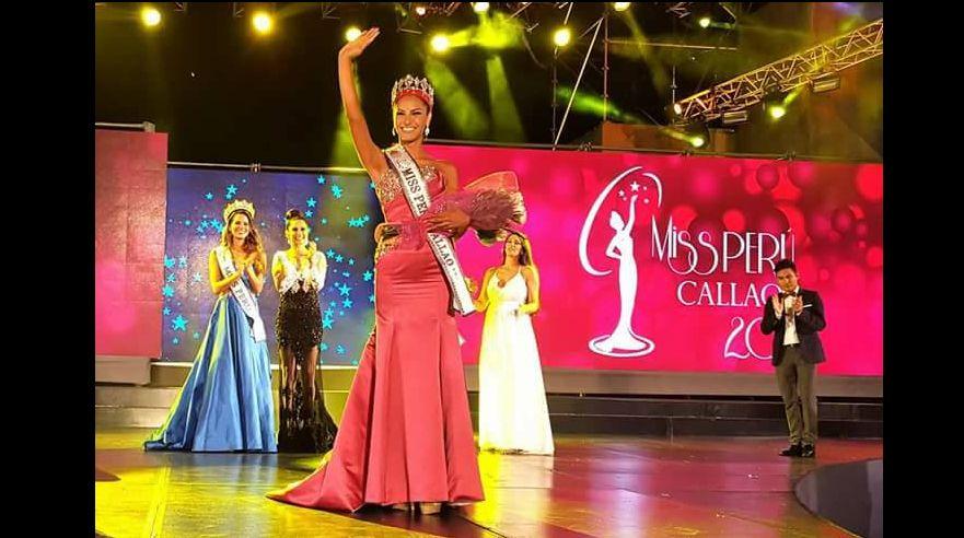 Romina Lozano se impuso en final del certamen — Miss Callao