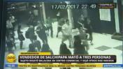 Independencia: el terror de la balacera captado por cámaras