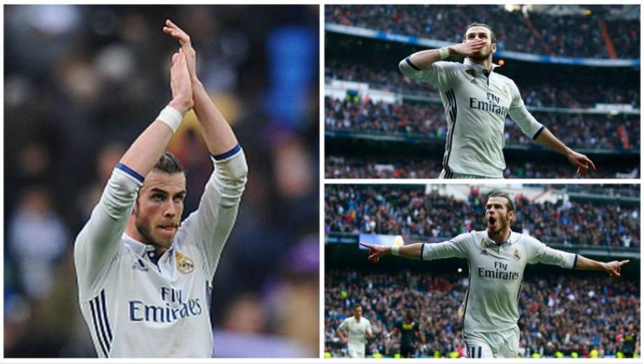 Real Madrid: el regreso con gol de Gareth Bale en imágenes