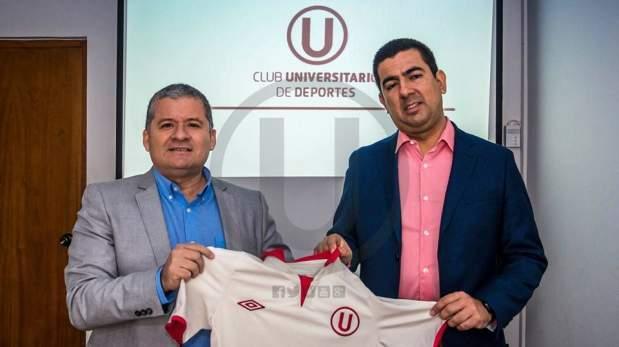 César Vento y Carlos Moreno, los encargados de Universitario este 2017.
