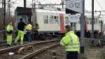 Bruselas: Descarrilamiento de tren deja un muerto y 20 heridos - Noticias de tren