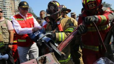 PPK en la Feria de Prevención de los bomberos [FOTOS]