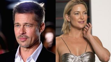 ¿Kate Hudson y Brad Pitt han iniciado un romance?